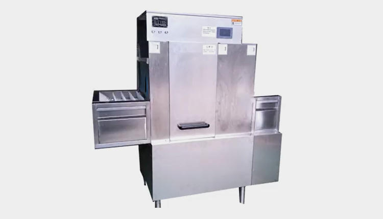 2000P Small Long Line Dishwasher Machine Cleaning Process